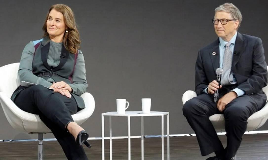 Bill e Melinda Gates anunciaram o divórcio em maio passado Foto: Reuters