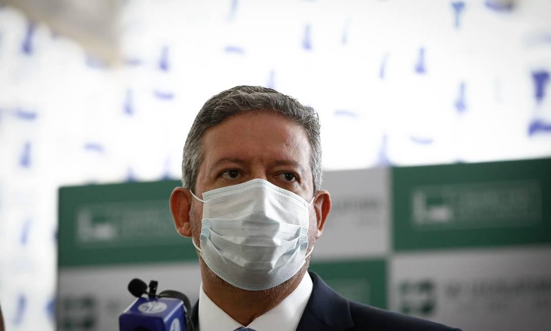 Arthur Lira, presidente da Câmara Foto: Pablo Jacob / Agência O Globo