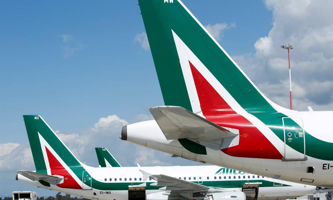 Itália e União Europeia fecham acordo para resgatar a Alitalia Foto: Remo Casilli / REUTERS