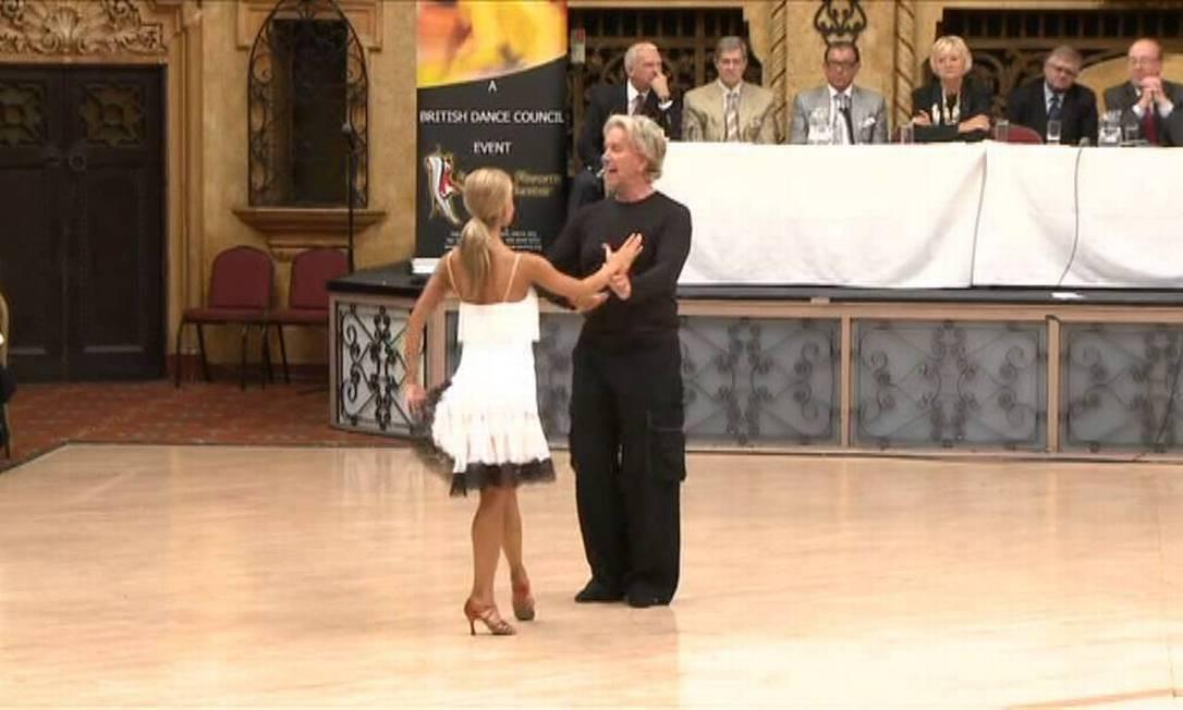A lenda da dança latino-americana Donnie Burns Foto: Reprodução de internet