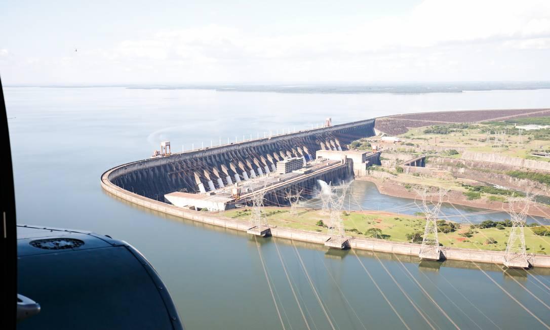 Hidrelétrica de Itaipu tem menor geração de energia em 27 anos Foto: Alan Santos/PR