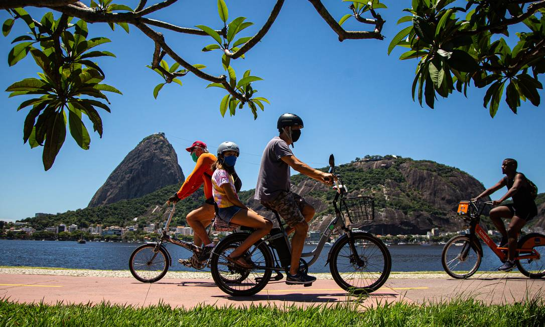 Pandemia aumenta demanda por bicicletas no Rio Foto: Hermes de Paula / Agência O Globo