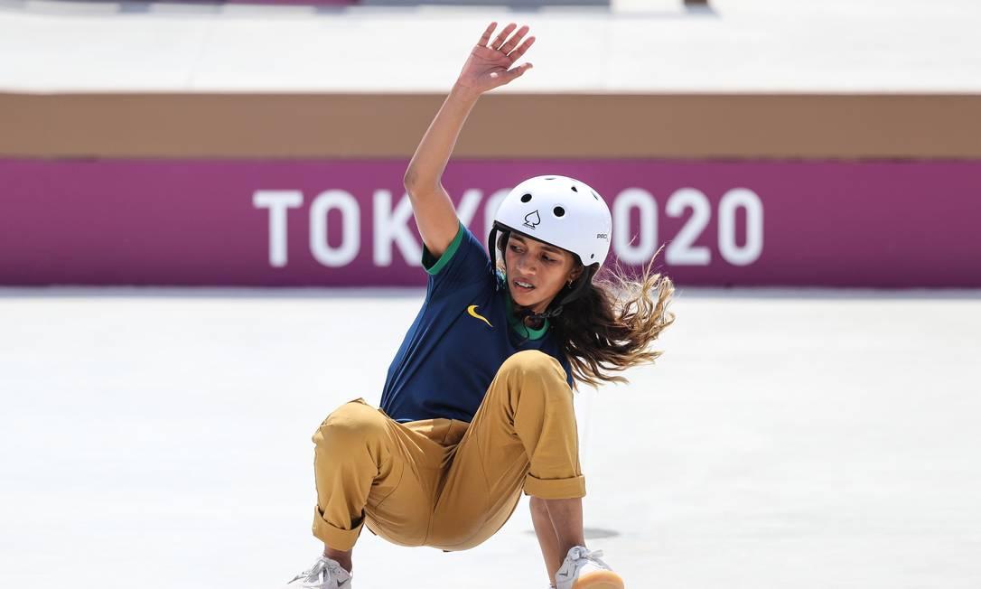 Rayssa Leal, a fadinha do skate, estrela campanha publicitária da Nike. Número de seguidores disparou Foto: Foto: Wander Roberto/COB / Agência O Globo