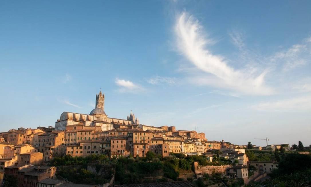 Vista da cidade de Siena, na Toscana, sede do Banca Monte dei Paschi di Siena, o banco mais antigo do mundo Foto: Susan Wright/The New York Times