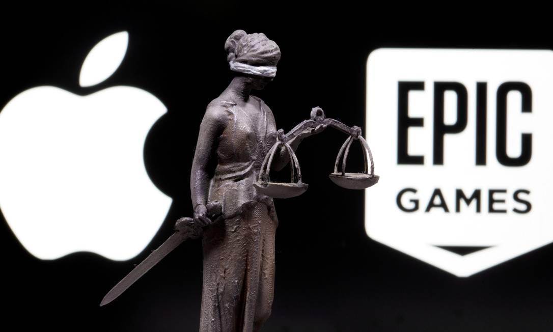 Caso Epic Games X Apple Foto: Dado Ruvic / REUTERS