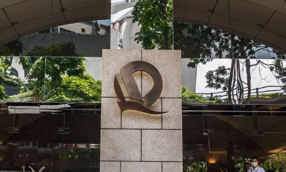 Autoridades chinesas informam a credores que Evergrande não deve pagar juros de empréstimos na próxima semana Foto: Bloomberg