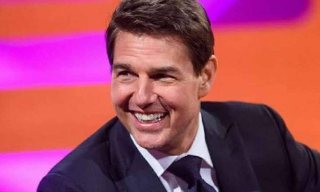 Tom Cruise fala com turistas espaciais da SpaceX Foto: Reuters