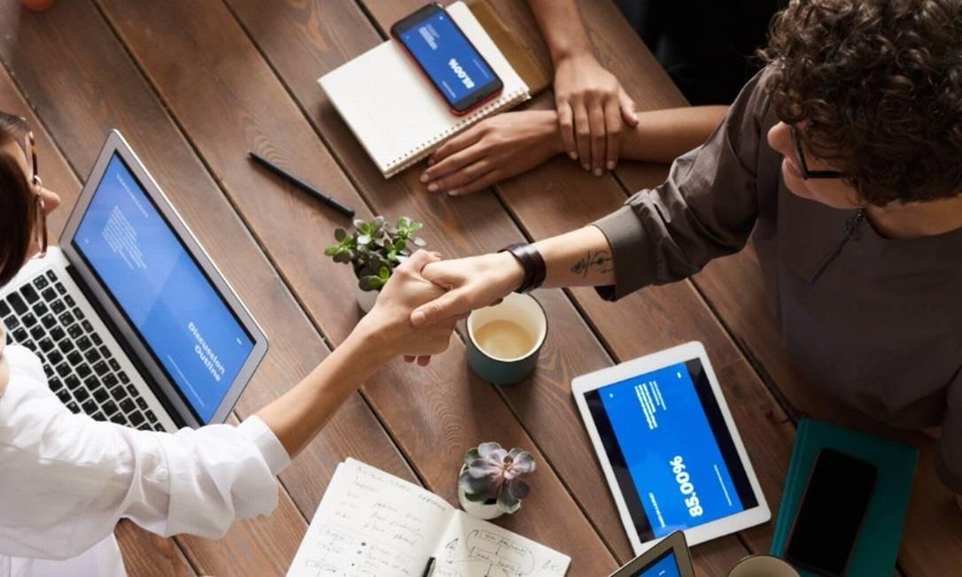 Empreendedores: cupons poderão ser criados e divulgados em posts e stories no Facebook e no Instagram Foto: Fauxels/Pexels