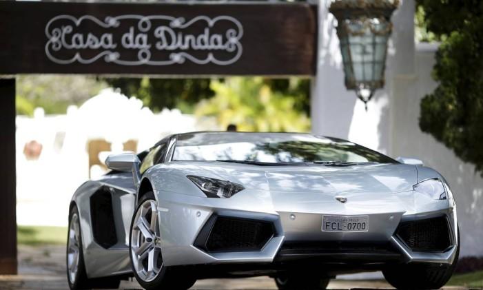 Lamborghini Aventador, carro apreendido na casa do ex-presidente Fernando Collor de Mello Foto: UESLEI MARCELINO / REUTERS