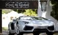 Lamborghini Aventador, carro apreendido na casa do ex-presidente Fernando Collor de Mello