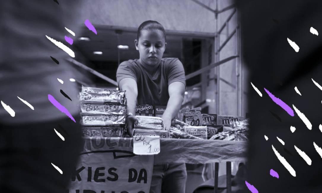 Mulheres que trabalham no mercado informal têm dificuldade de contribuir para a Previdência e acabam se aposentando por idade Foto: Márcia Foletto/11-5-2018 / Agência Globo