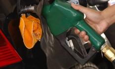 Bomba de gasolina Foto: Agência O Globo