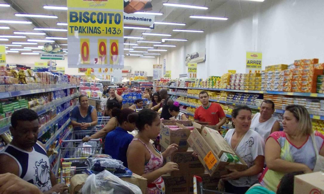 Alimentos e bebidas foram contemplados pelo acordo Foto: Arion Marinho / Agência O Globo