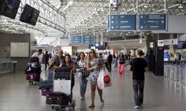 Aeroporto Internacional Tom Jobim, no Rio Foto: Hudson Pontes / Agência O Globo