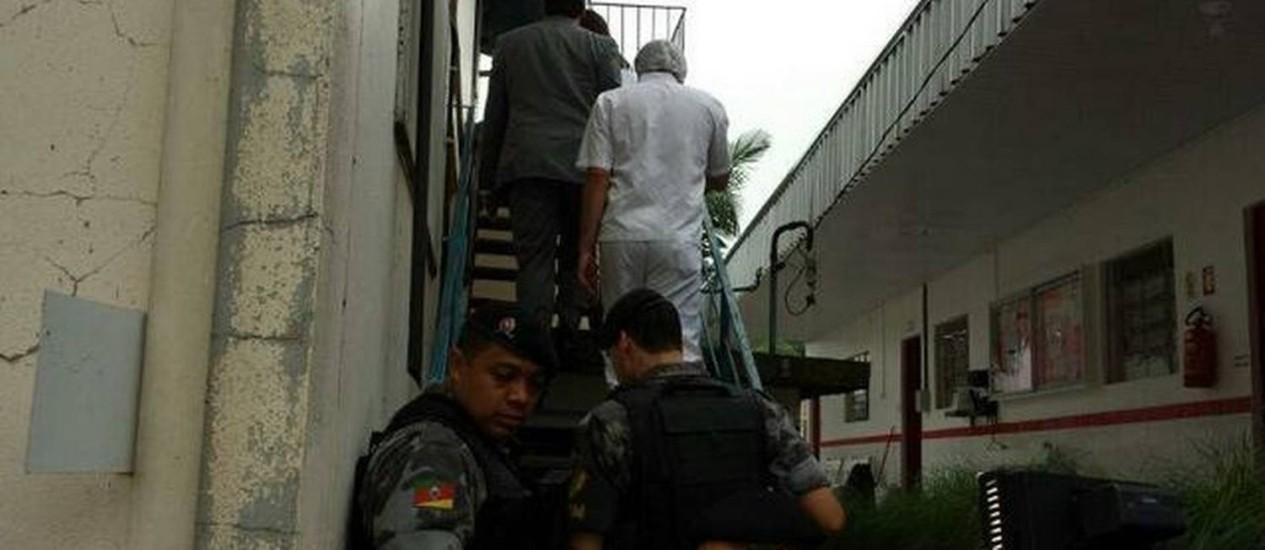 Ação da polícia em uma das indústrias Foto: Divulgação/MPRS