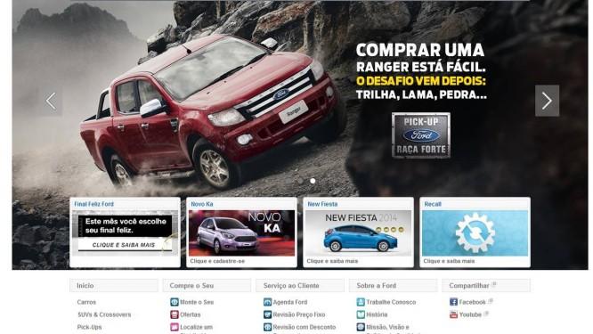 Ford é a montadora com maior número de recalls Foto: REPRODUÇÃO