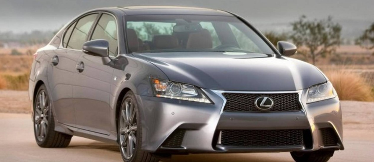 Lexus GS 2013 é um dos modelos anunciados no recall da Toyota Foto: Reprodução