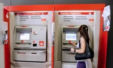 Biometria não poderá ser obrigatória em bancos caso lei seja sancionada Foto: Arquivo O Globo