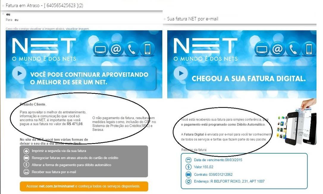 ff19cc33d Cliente Net é vítima de tentativa de golpe do boleto falso - Jornal ...