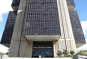 Prédio do Banco Central, em Brasília Foto: Roberto Stuckert Filho / Agência O Globo