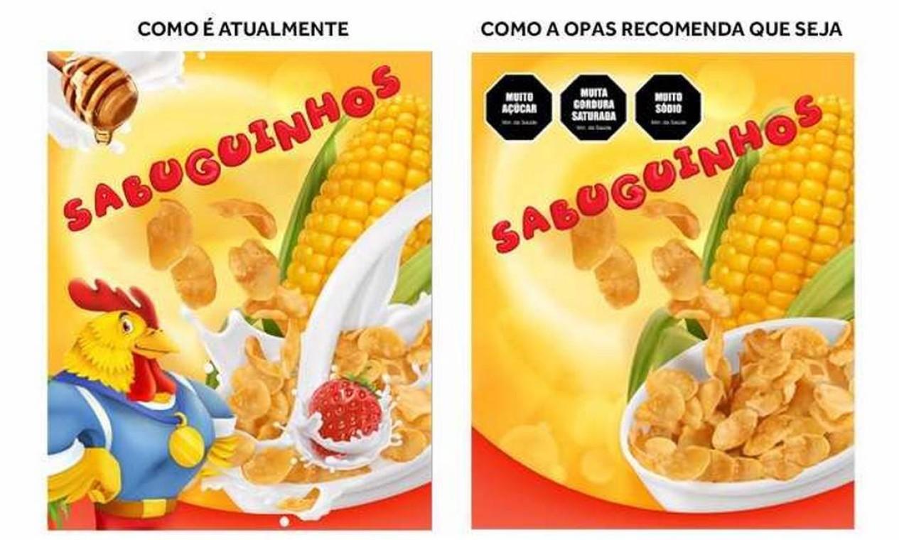 Rótulos de alimentos devem mudar, defende Organização Pan-Americana de Saúde