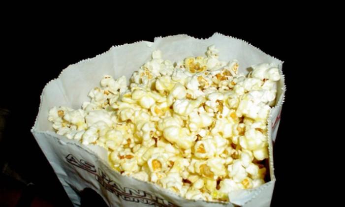 Consumidor pode levar pipoca de fora do cinema para a sessão, diz STJ Foto: Stock.XCHNG