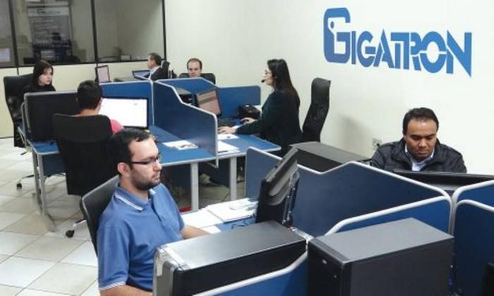 Franquia especializada em softwares e prestação de serviços para empresas, Gigatron tem o sistema home-based Foto: Divulgação