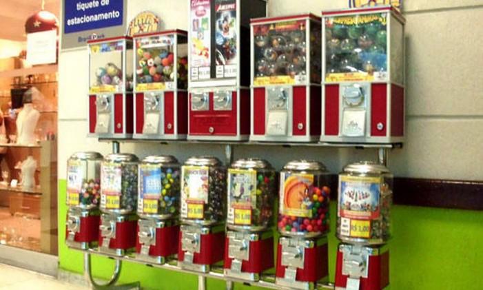Franquia especializada em máquinas de venda automática de doces e brinquedos Foto: Divulgação
