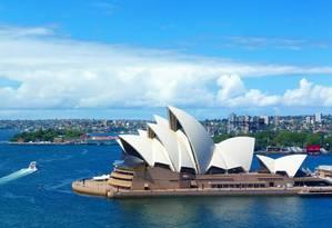 Sydney, na Austrália, atrai muitos profissionais que querem estudar Foto: Pixabay