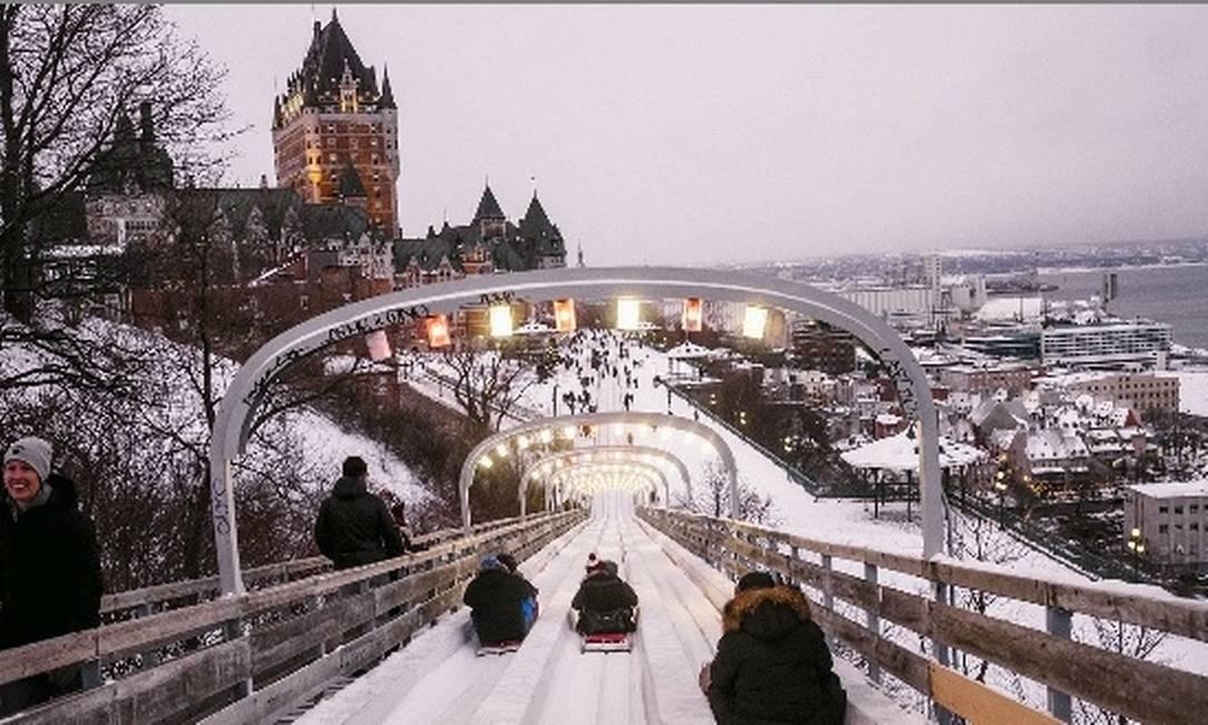Québec, no Canadá, oferece vagas de trabalhos para profissionais de diferentes áreas Foto: Renaud Philippe/The New York Times