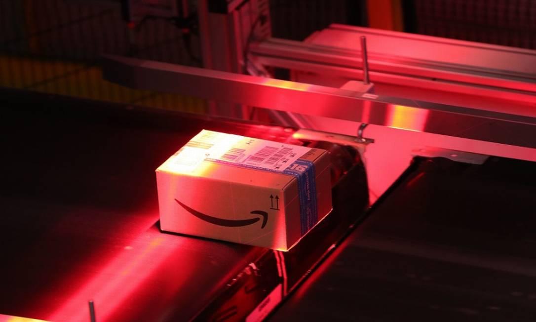 Amazon tem atraído o escrutínio das autoridades de proteção de privacidade para o vasto acervo de dados de clientes e parceiros que acumulou ao longo dos anos Foto: Bloomberg