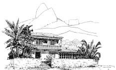 Projeto da residência de Paulo Oliveira Sampaio, feito em 1935 Foto: Divulgação