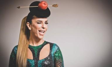 Pequena Eva. Ivete usa chapéu Leo's Hat Foto: Bárbara Lopes / Agência O Globo