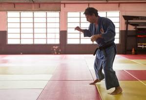O judoca Flávio Canto conta sua história de mudança de rota Foto: Fabricio Pimentel / BRSK/Biermann