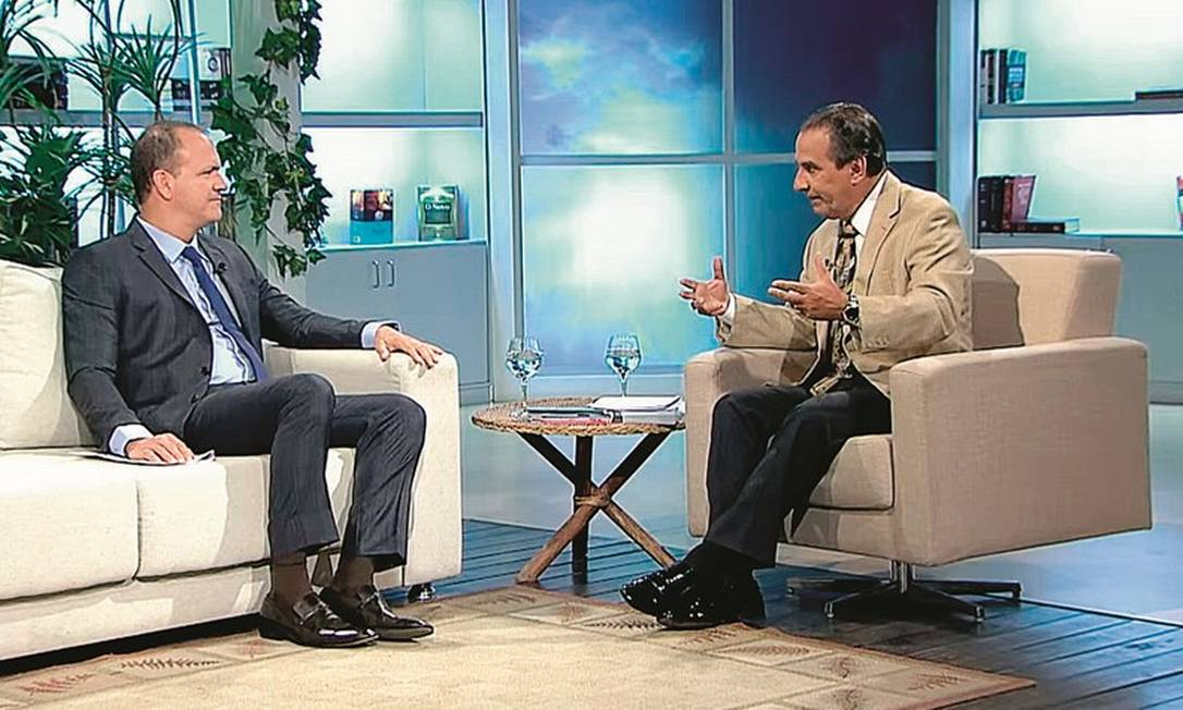 Guilherme Schelb, na foto com o pastor Silas Malafaia, é o nome preferido da bancada evangélica para ocupar o cargo de procurador-geral da República. Foto: Reprodução