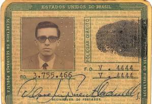 Nascido em Campinas, São Paulo, Olavo de Carvalho integrou o Partido Comunista Brasileiro (PCB) entre 1966 e 1968. Foto: Reprodução