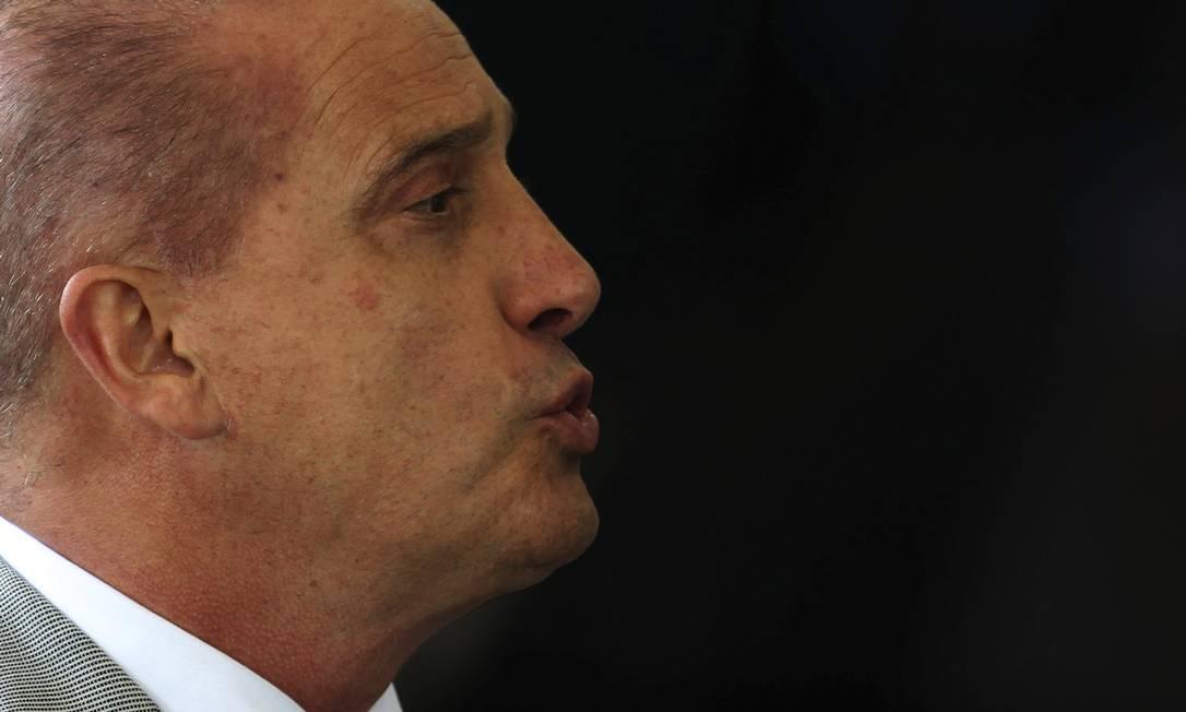 O atual ministro da Casa Civil, Onyx Lorenzoni, é responsável pela relação entre o Palácio Planalto e o Congresso Nacional Foto: Jorge William / Agência O Globo
