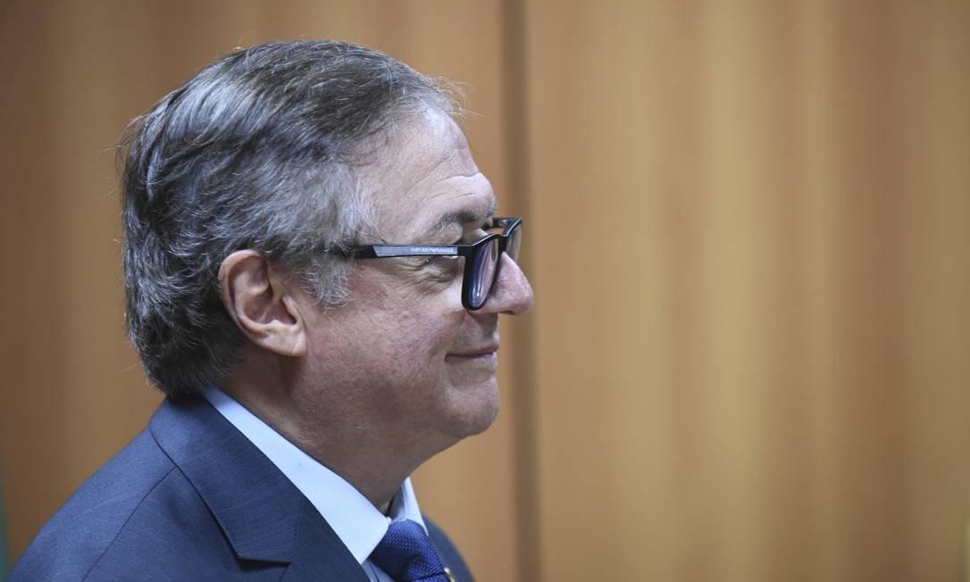 O ministro da Educação, Vélez Rodríguez, está com os dias contados em pasta que segue em conflito entre grupos. Foto: Luis Fortes / MEC