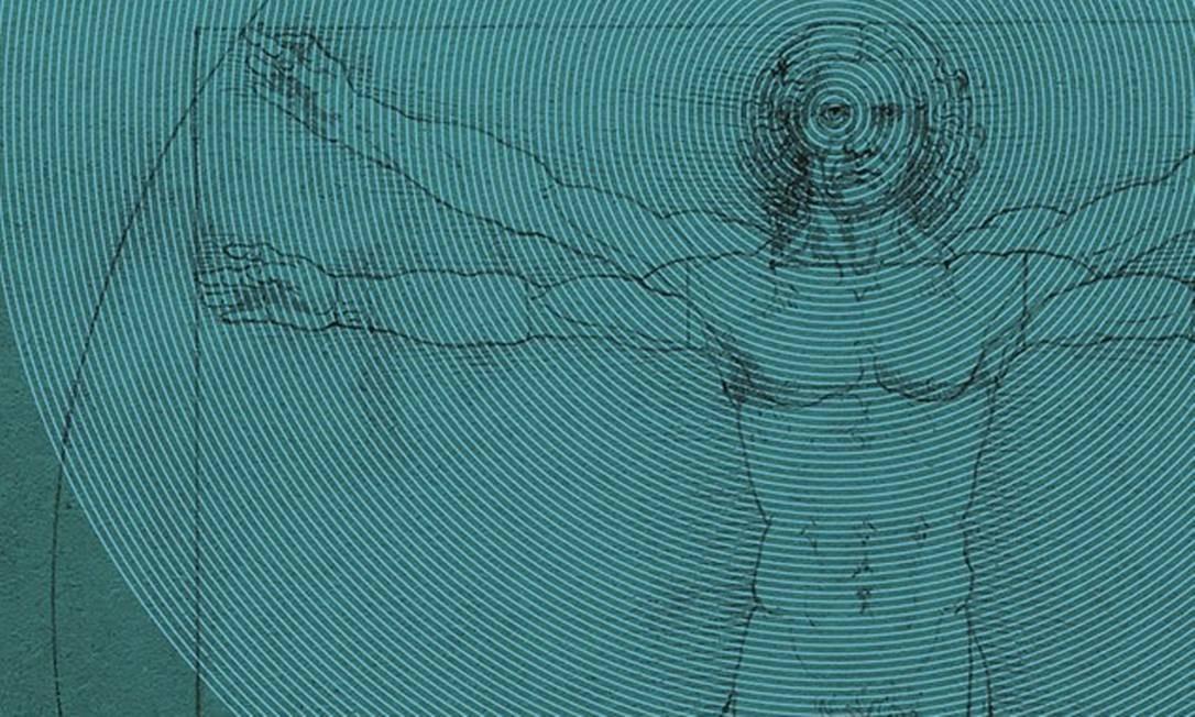 Homem de Vitrúvio, de Leonardo da Vinci, é um símbolo do homem divinizado, que reúne em si o macro e o microcosmo. Foto: VCG Wilson / Corbis / Getty Images
