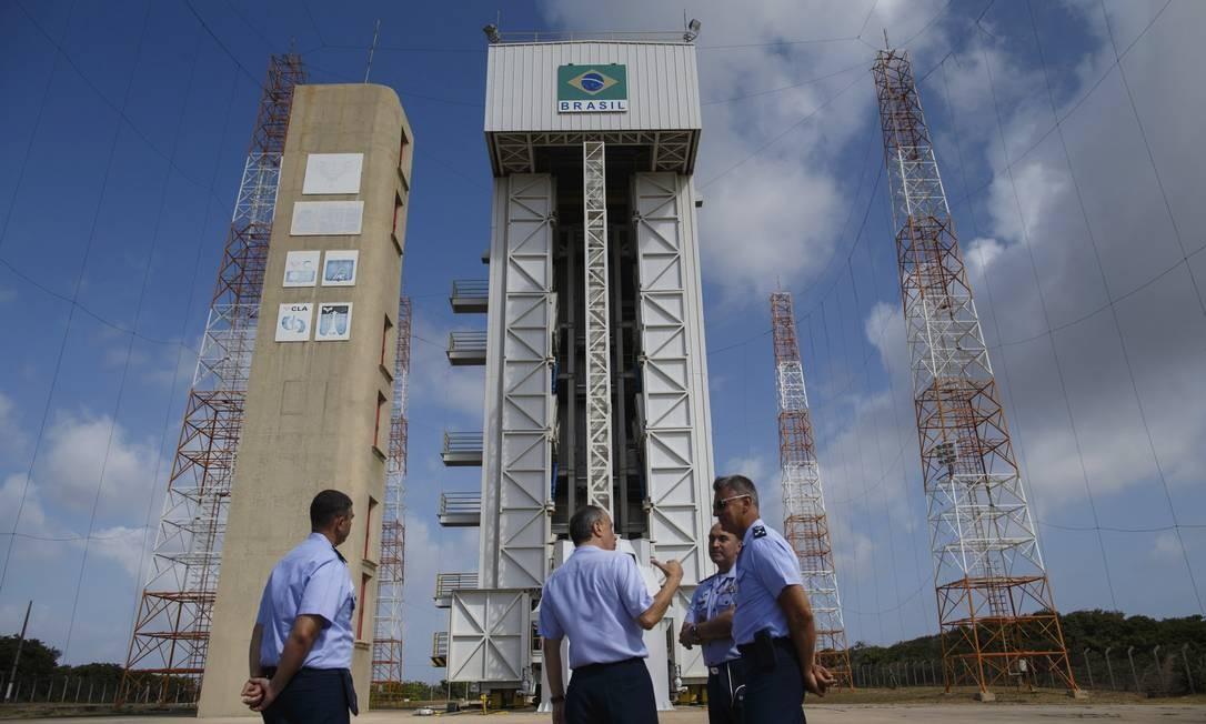 Negociações sobre a base de Alcântara dominaram a agência do ministro astronauta Foto: Daniel Marenco / Agência O Globo