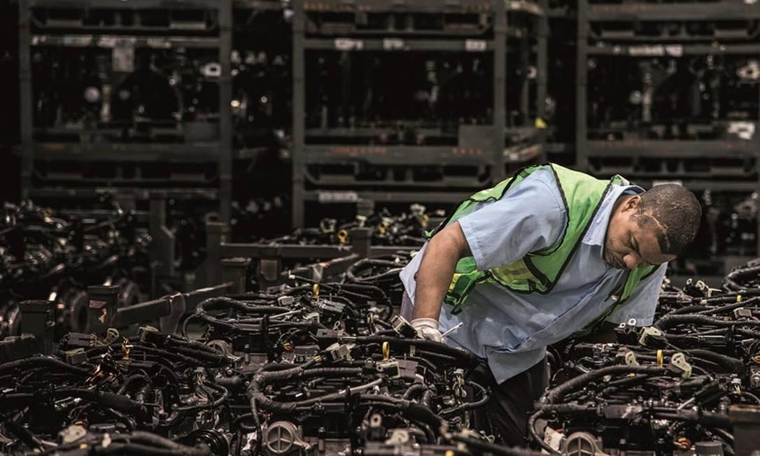 O setor produtivo brasileiro segue fora do ranking da consultoria A.T. Kearney que lista os 25 países preferidos dos investidores internacionais. Foto: Paulo Fridman / Bloomberg / Getty Images