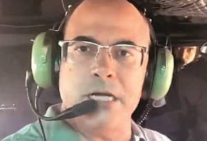 """Em vídeo gravado por ele mesmo e publicado nas redes sociais no fim de semana, o governador Wilson Witzel disse que participava de uma operação para """"pôr fim à bandidagem em Angra dos Reis"""". Foto: Reprodução"""