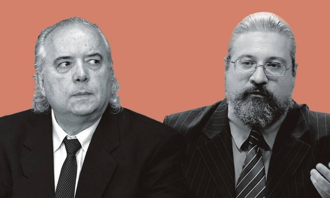 Ronaldo Laranjeira (à esquerda) e Luís Fernando Tófoli. Foto: Montagem sobre fotos de Marcelo Camargo / ABr; e Pedro França / Agência Senado