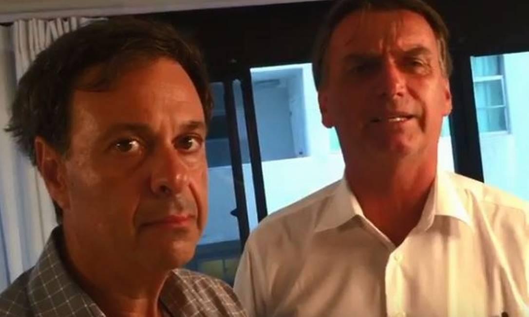 Gilson Neto e Jair Bolsonaro Foto: Reprodução/YouTube / Reprodução/YouTube