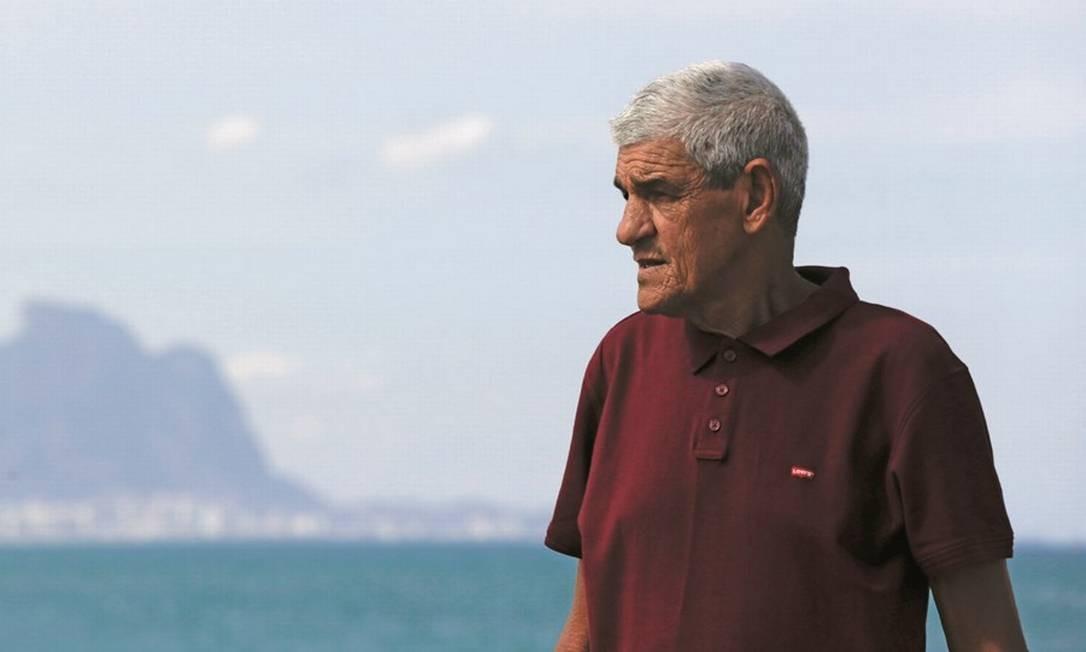 Waldir Ferraz, assessor de Bolsonaro desde os anos 80, foi afastado da campanha por Bebianno e não ganhou cargo no governo. Foto: Gabriel de Paiva / Agência O Globo