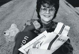 As vendedoras da Avon se tornaram um símbolo do empreendedorismo americano a partir da década de 60. Foto: Acey Harper / The LIFE Images Collection / Getty Images
