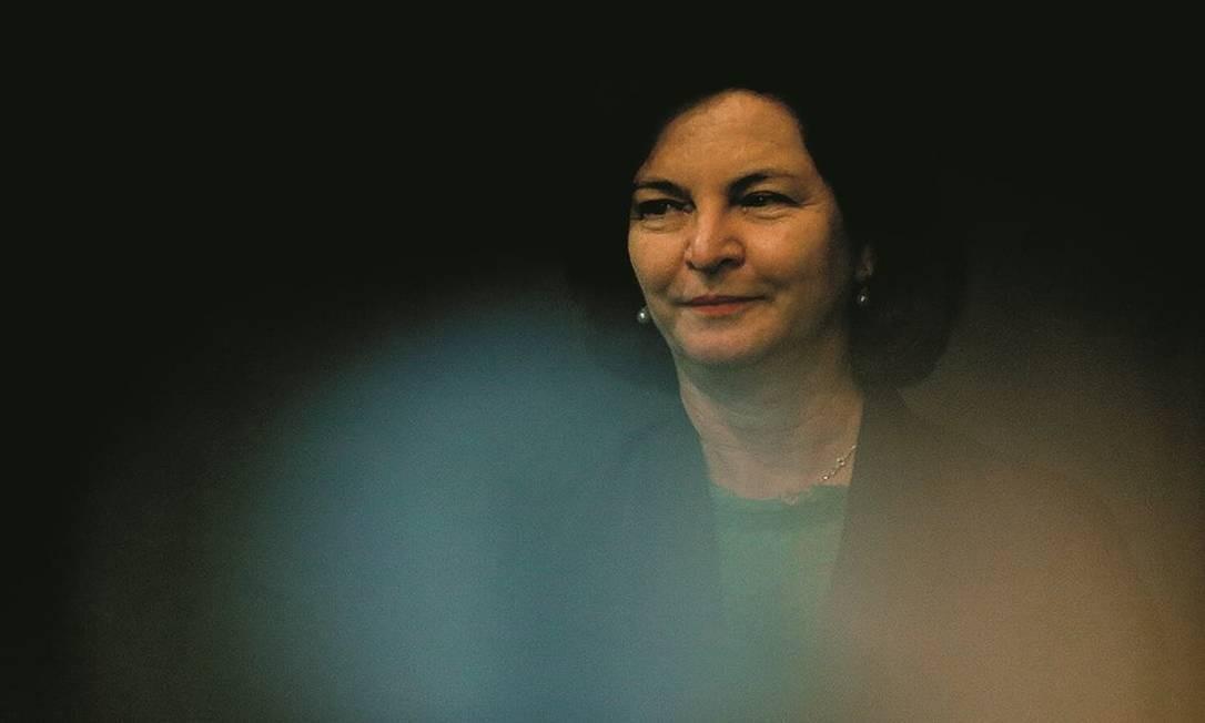 A procuradora-geral da República, Raquel Dodge, em campanha silenciosa pela recondução. Foto: Jorge William / Agência O Globo