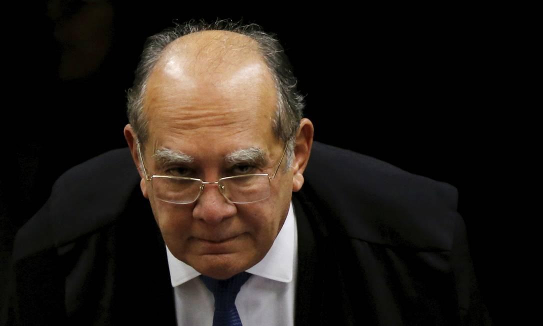 O ministro do STF Gilmar Mendes Foto: Adriano Machado / Reuters