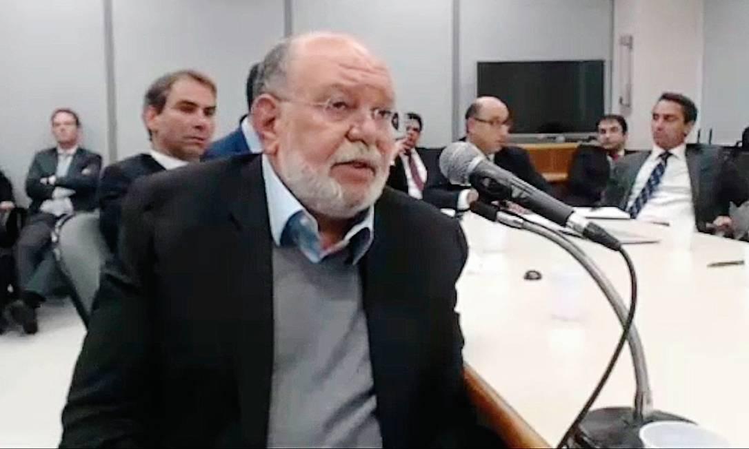 A delação de Léo Pinheiro, ex-presidente da OAS, aguarda homologação e deve conduzir a novas operações da Lava-Jato neste ano Foto: Reprodução