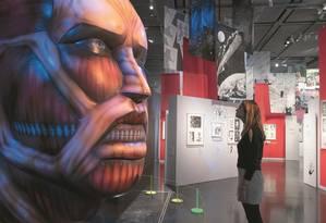Para contar a história da arte japonesa que conquistou o mundo, o Museu Britânico exibe esculturas, ilustrações em papel, registros digitais, cerâmicas e filmes. Foto: J. Fernandes / The Trustees of the British Museum